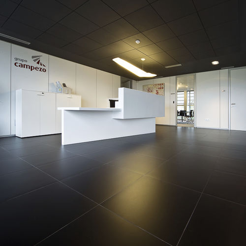indoor tile / floor / porcelain stoneware / 60x60 cm