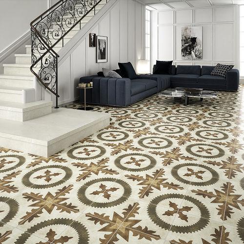 indoor tile / floor / porcelain stoneware / 30x30 cm