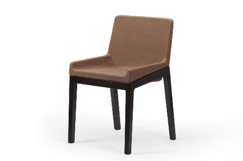 Contemporary chair / wooden / upholstered TONIC by Lorenz Kaz Rossin