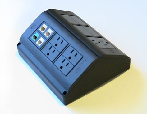 Surface mounted electrical box / for sockets MS10166 FBS - Floor Box Systems