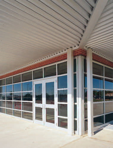 Panel curtain wall / insulated glass / high-resistance FG-5100T STORMMAX® Oldcastle BuildingEnvelope