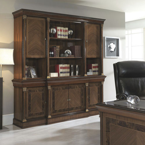 Traditional bookcase / for offices / wooden MERLIN HURTADO