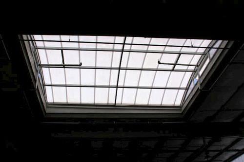 metal skylight
