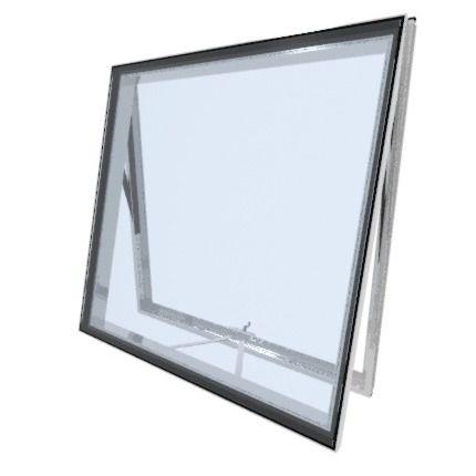 tilting window / aluminum