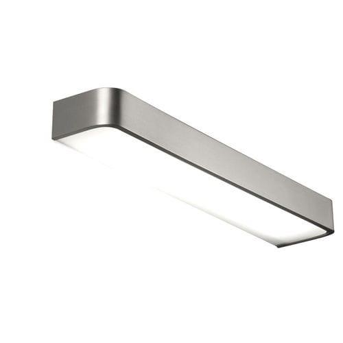 contemporary wall light / glass / aluminum / polycarbonate