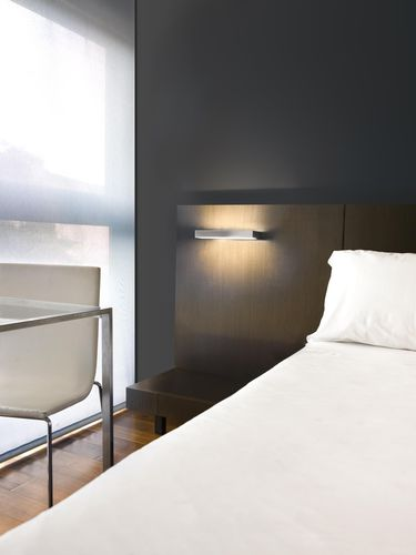 contemporary wall light / crystal / brass / LED