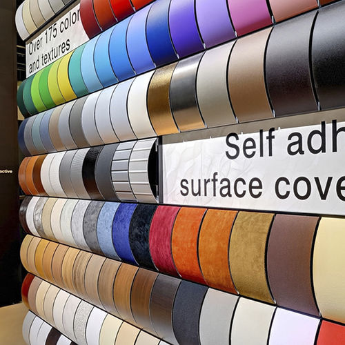 Vinyl wallcovering / commercial / smooth / printed MILAMENT® MBA-Design & Display Produkt