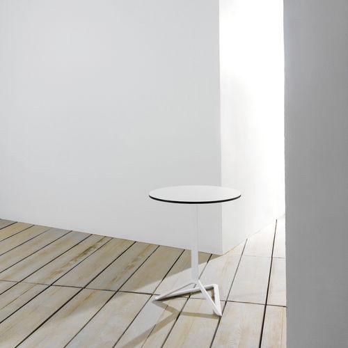 extruded aluminum table base / cast aluminum / contemporary / for high bar tables