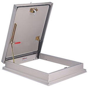 roof hatch / rectangular / aluminum