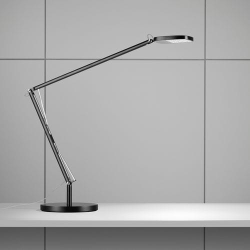 table lamp / contemporary / aluminum / steel