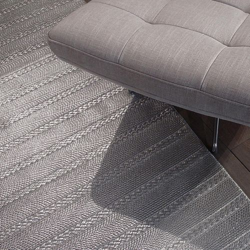 contemporary rug / plain / wool / cotton