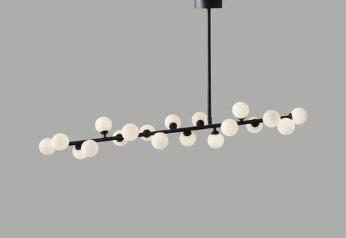 Pendant Lamp Contemporary Aluminum Glass