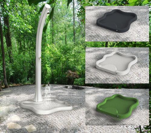 Square shower base / PE / non-slip PIATTO DOCCIA LAKE D108. Arkema Design