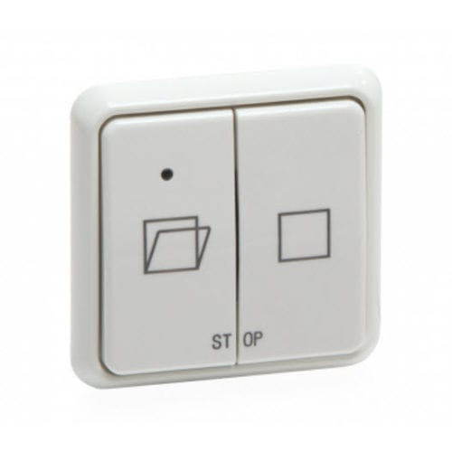 ventilation switch / push-button / double / contemporary