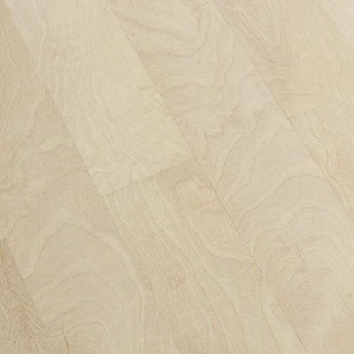 engineered parquet floor / glued / birch / oiled