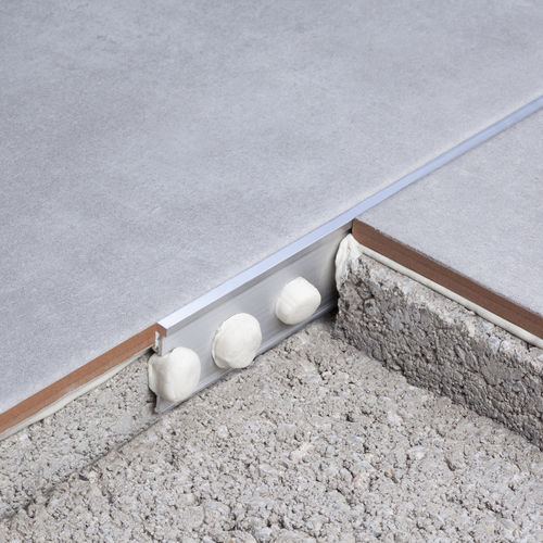 Aluminum junction profile / brass / for tiles NOVOSEPARA 1 EMAC COMPLEMENTOS, S.L.