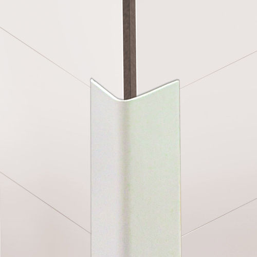 PVC edge trim / outside corner / for partition walls