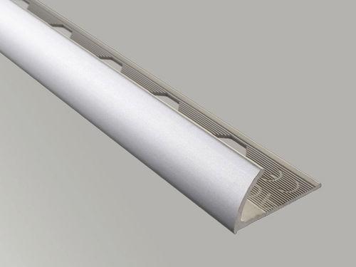 aluminum edge trim / for tiles / outside corner