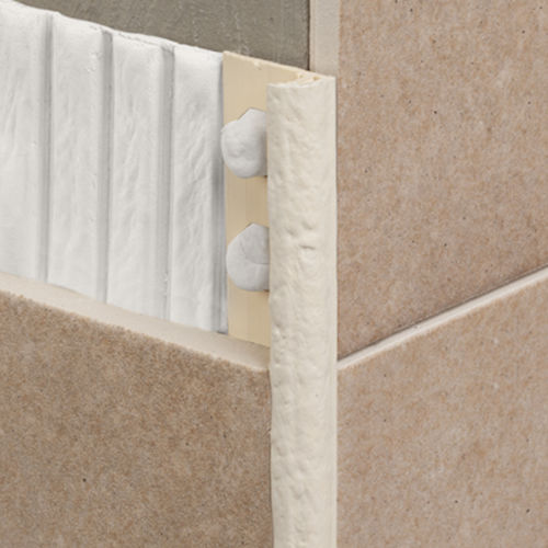 PVC edge trim / for tiles / rounded edge NOVOCANTO® RUSTIC EMAC COMPLEMENTOS, S.L.