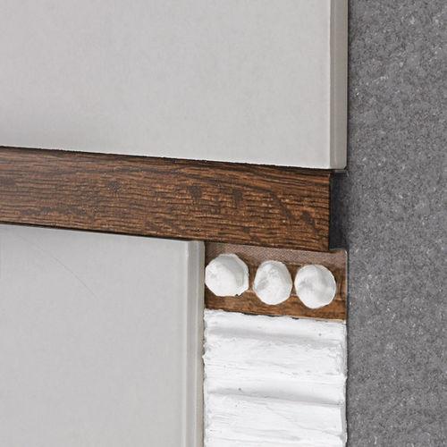 aluminum edge trim / for partition walls