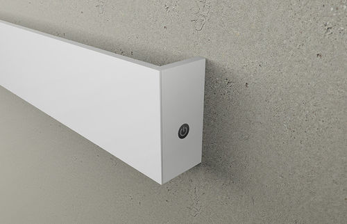 electric towel radiator / aluminum / contemporary / bathroom