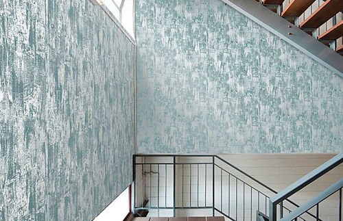 Metal wallpaper / traditional / patterned / non-woven ATTRITION DULLL NICKEL Ilias