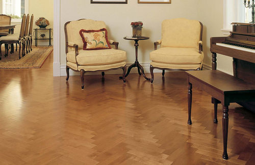 Solid parquet flooring / engineered / nailed / maple MAPLE NEVADA Mirage