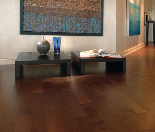solid parquet floor / engineered / nailed / glued