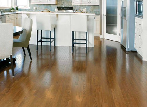 Solid wood flooring / engineered / nailed / glued RED OAK RICH OAK Mirage