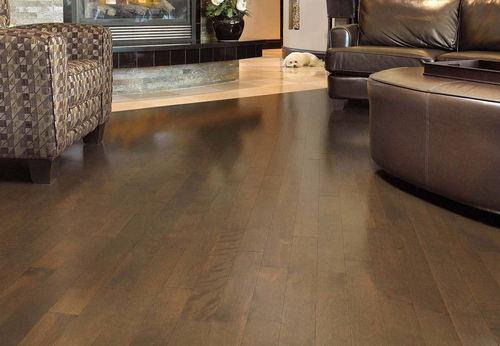 engineered parquet floor / solid / nailed / glued