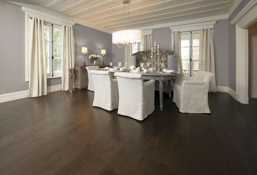 Solid wood flooring / engineered / nailed / glued RED OAK COFFEE Mirage