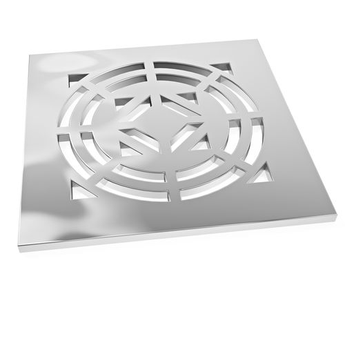 shower drain grate / stainless steel