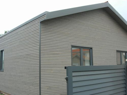 Douglas fir cladding / grooved / panel