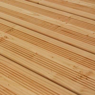 Douglas fir deck board / for domestic use