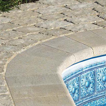 concrete swimming pool coping