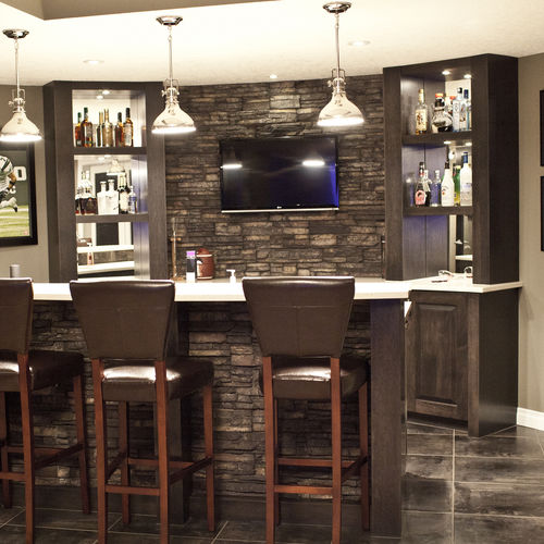 Stone wall cladding / exterior / interior STACKED STONE : CHAPELL HILL® Eldorado Stone