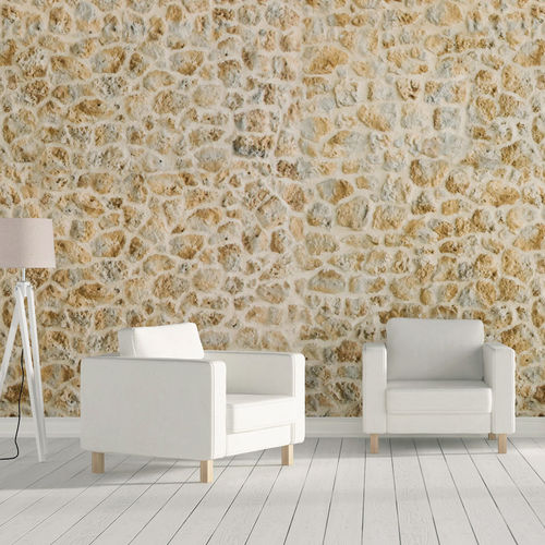 Concrete wallcovering / residential / textured / stone look TIMANFAYA Verniprens
