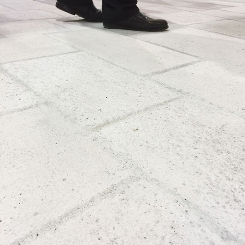 Outdoor tile / for floors / concrete / plain SALINAS Verniprens