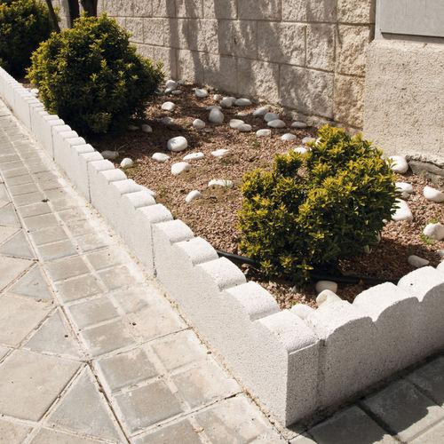 Garden edge / concrete / arched TARRAGONA Verniprens