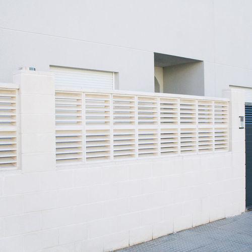 Precast concrete screen wall / garden / patio SOLLER Verniprens
