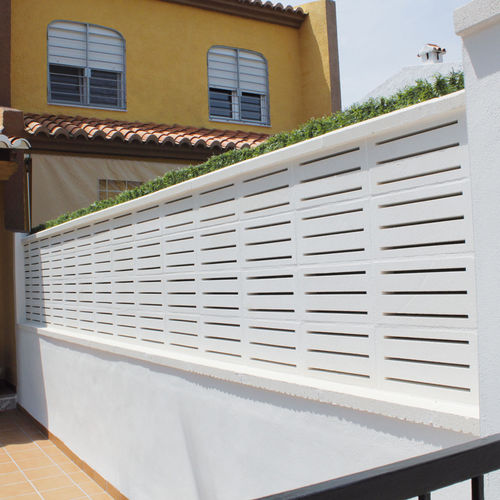 Precast concrete screen wall / garden / patio ALTEA Verniprens