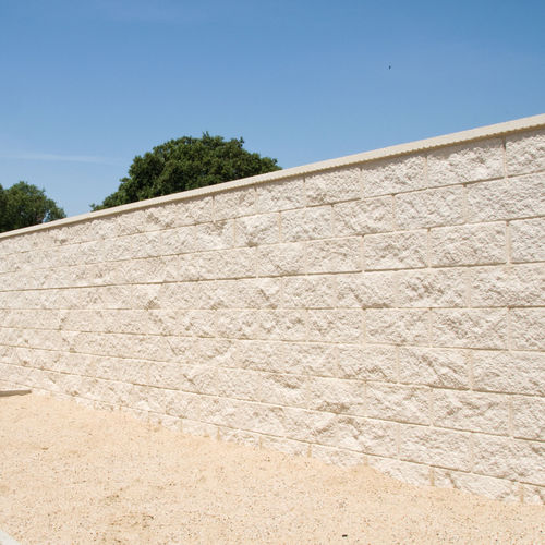 hollow concrete block / for walls / for foundations / for flooring