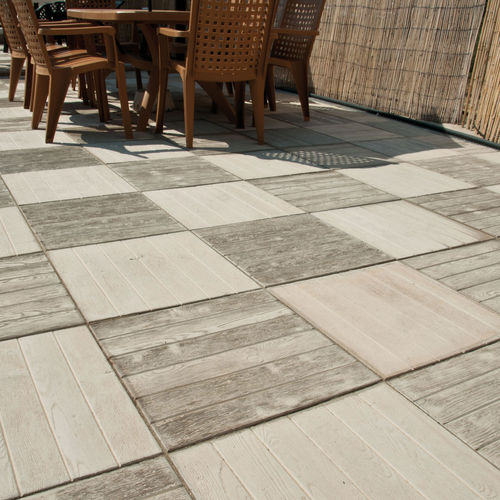 Outdoor tile / floor / concrete / plain AZORES Verniprens