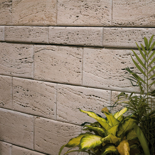 Concrete wallcovering / residential / commercial / textured LISTELO TRAVERTINO OLIVILLO Verniprens