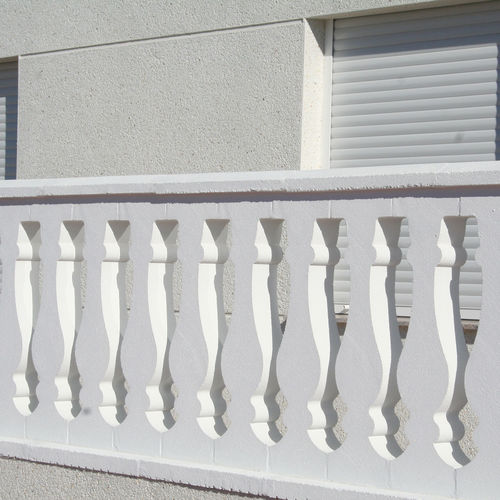 Engineered stone balustrade / outdoor / for patios / for balconies MALLORCA Verniprens