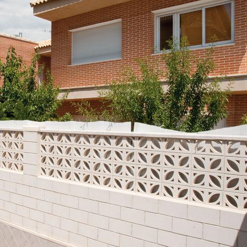 Precast concrete screen wall / garden / patio FICUS Verniprens