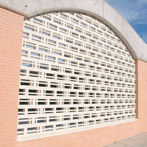 Precast concrete screen wall / patio / garden PAULA Verniprens