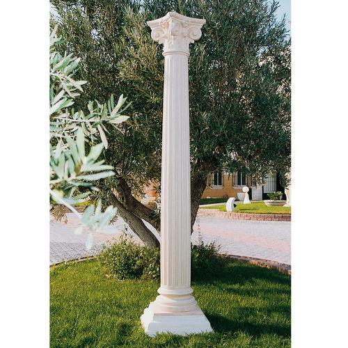 concrete column / prefab / decorative