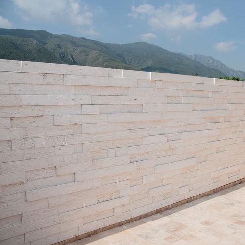 engineered stone wall cladding panel / indoor / outdoor / textured