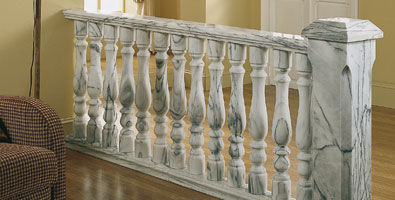 Marble balustrade / outdoor / for patios Verniprens